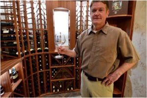 Tim from Harvest Custom Wine Cellars and Saunas