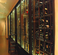 hospitality-restaurant-wine-cellar-manhattan-new-york-mahogany-wood-bulk-storage,-sealed-sliding-doors-0005