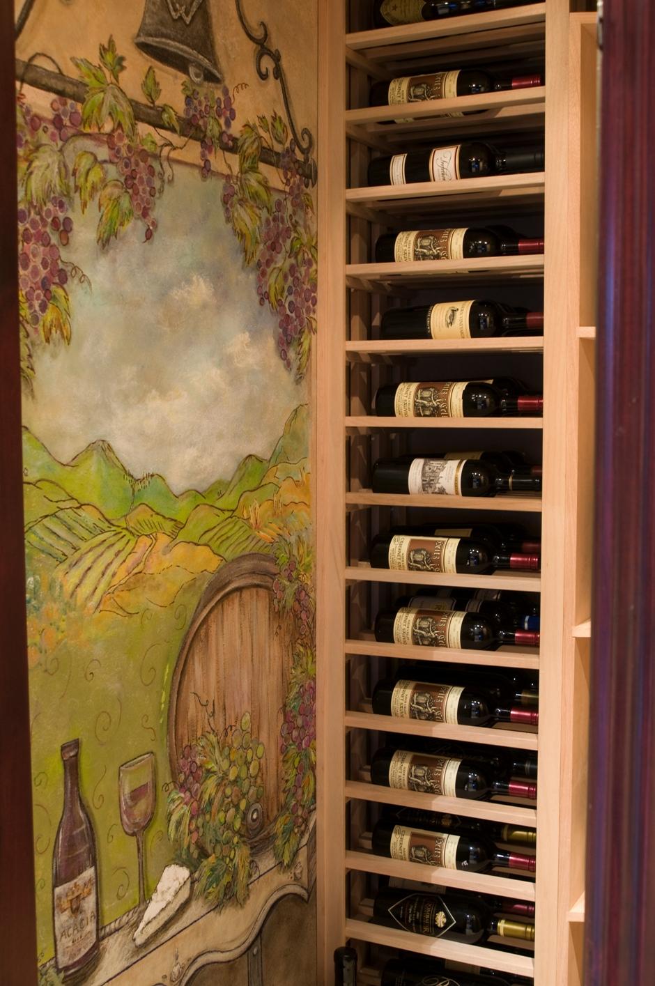 Mural Wine Cellar Art