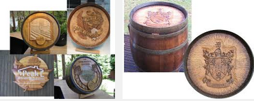 Wine Barrel Carvings