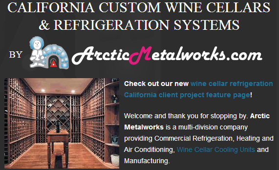 Arctic Metalworks Wine Cellar Refrigeration Systems