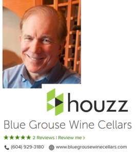 Blue Grouse Wine Cellars and Gary Bombay on Houzz