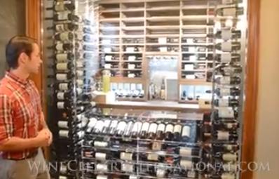 Residential Wine Cellar North Miami Florida
