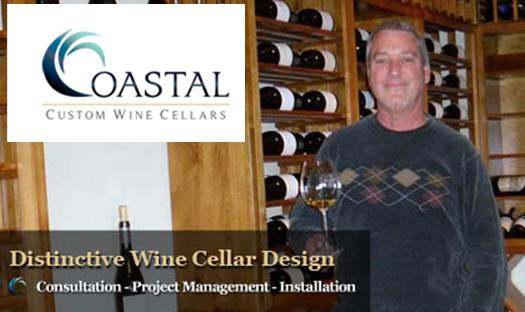 Jerry Wilson, founder of Coastal Custom Wine Cellars