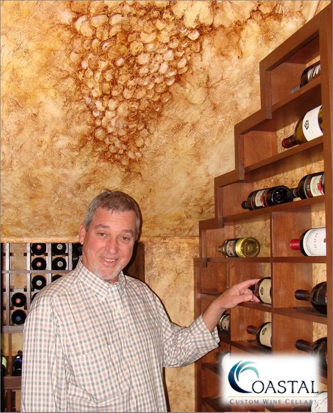 COTO DE CAZA wine cellar art