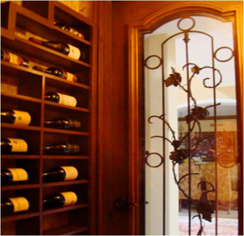 View the full story of this California residential wine cellar