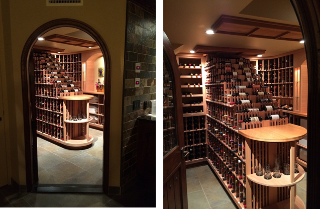 A Stunning Residential Wine Cellar in Los Angeles