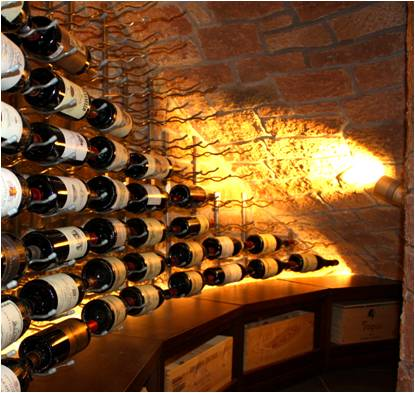 Dallas Texas Contemporary Wine Cellar Design