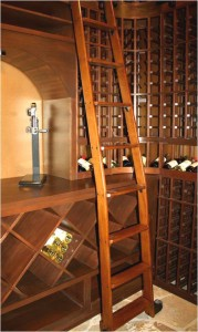 Chevis wine cellar ladder