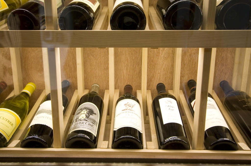 Keep your wine collection in a beautiful wine cellar in California