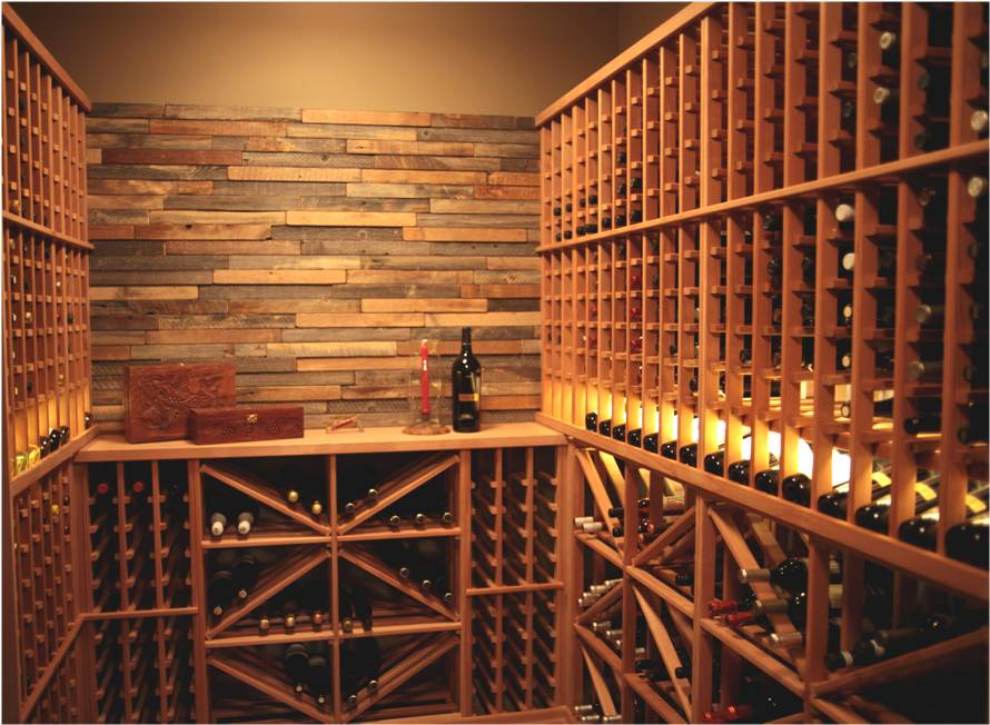 Vancouver Residential Wine Cellar Installation with Modular Racking