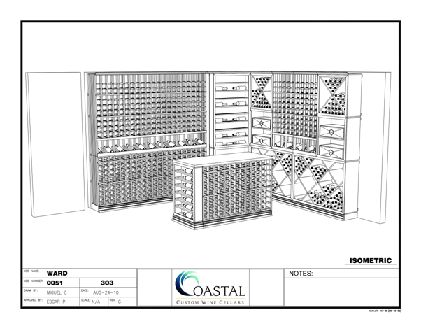 Click on this image to know how you can get a FREE 3D wine cellar drawing