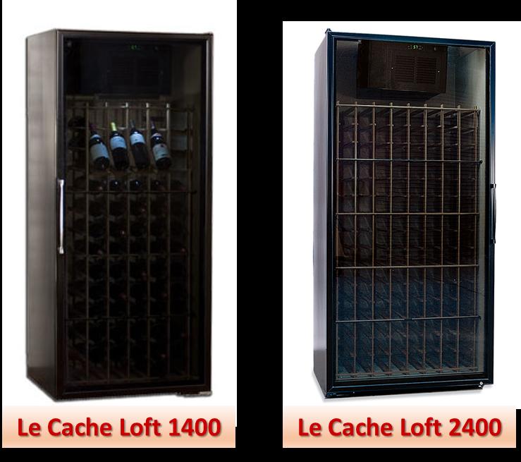 Le Cache Loft Wine Fridge Models