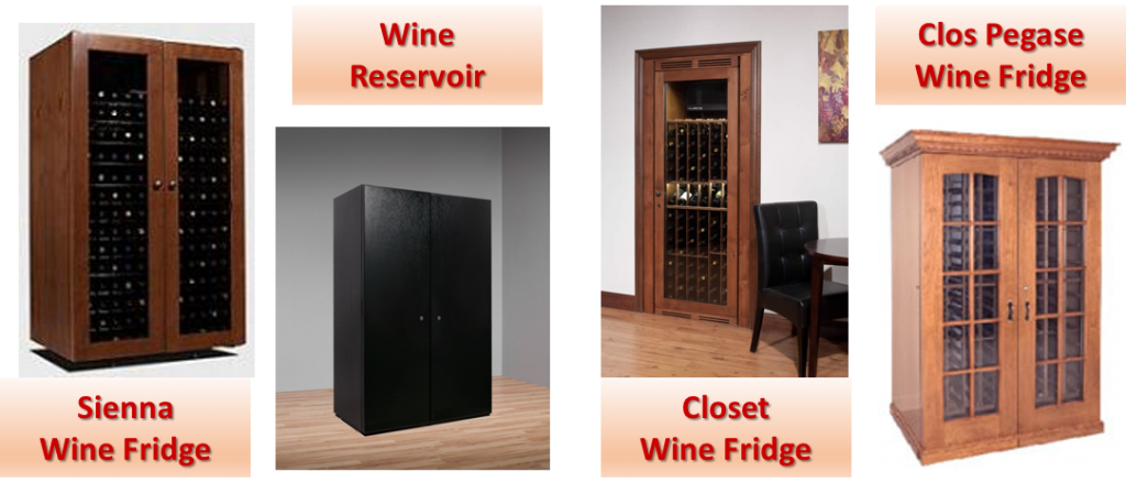 Vinottheque Wine Fridge Models