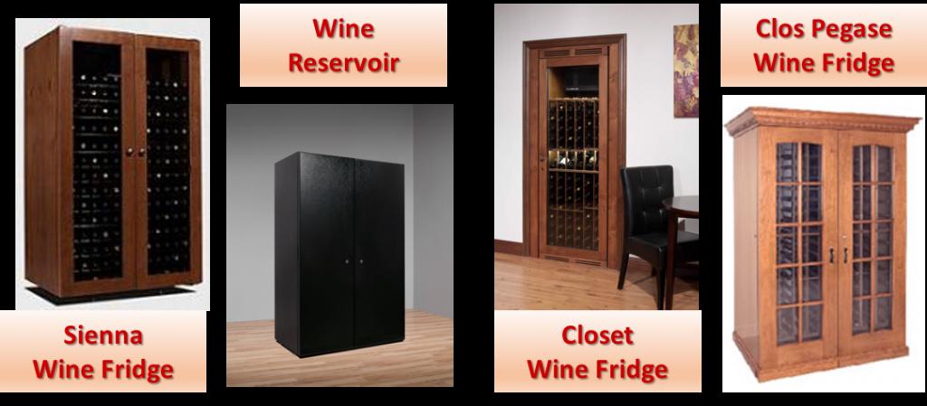 Vinottheque Wine Fridge Models