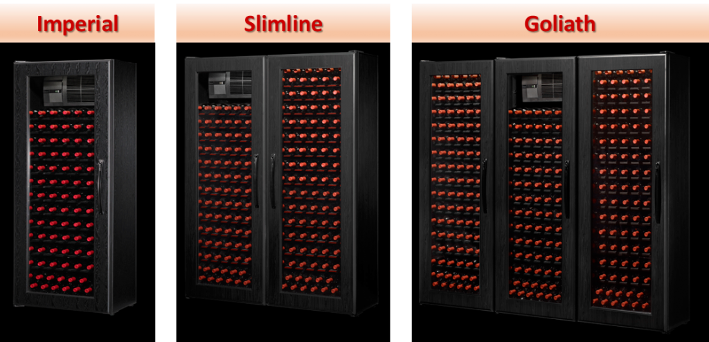 Wine KoolR Slimline Wine Fridges