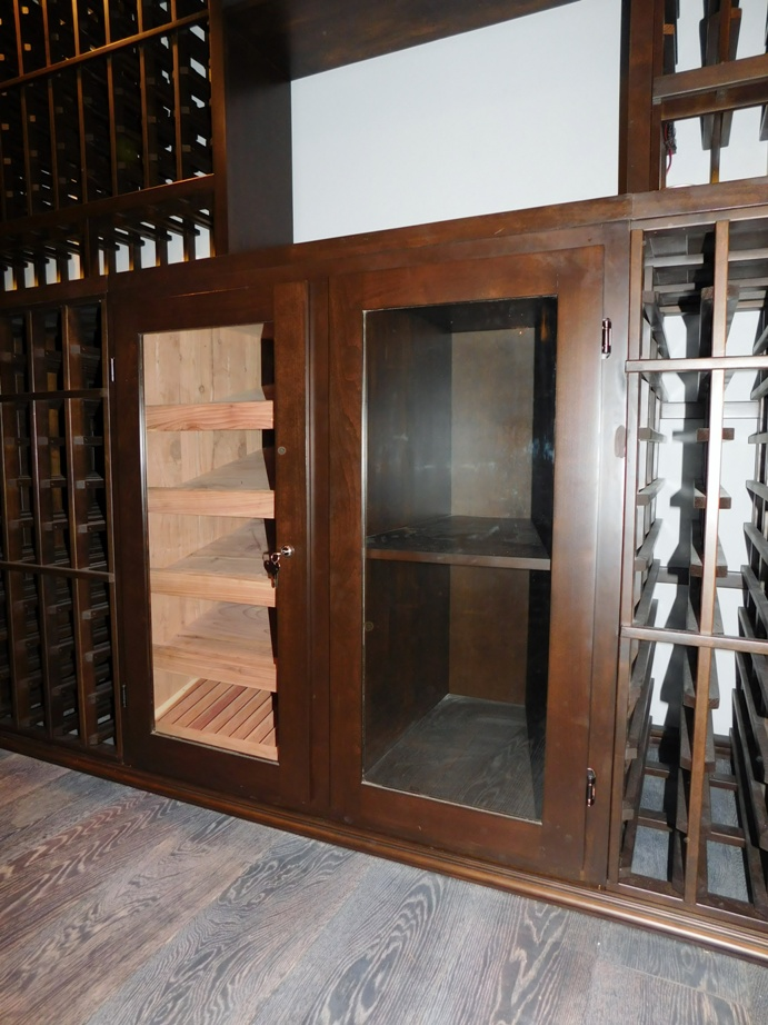 Cigar Humidor Anaheim California Custom Wine Cellar Project