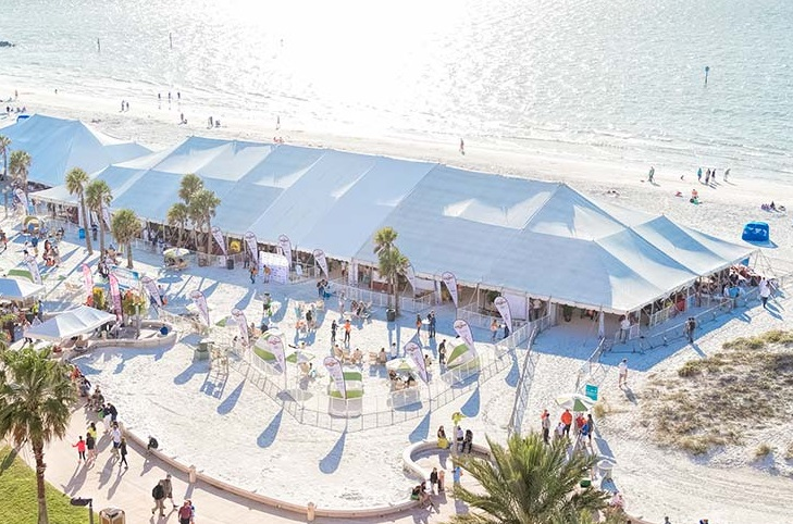Enjoy fine tasting wines while you relax at the beach! Join Clearwater Beach Uncorked!
