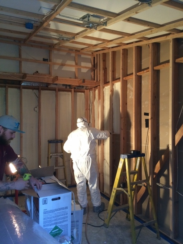 California Wine Cellar Spray Foam Insulation