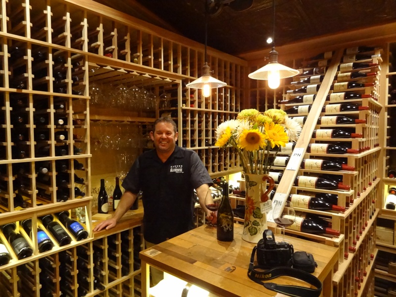 Vintage Cellarsowners recently converted an unused storage area into this beautifully designed custom wine cellar in Ramona, California.