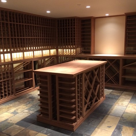 Vancouver Canada Contractors Custom Wine Cellar Design