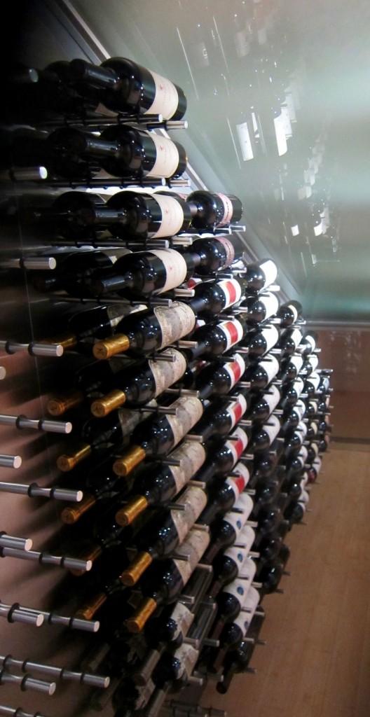 Dallas Contemporary Wine Cellar Ultra Peg System