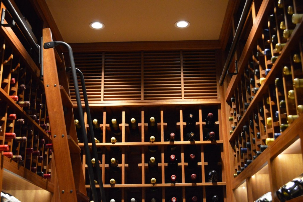 Custom Wine Rack Design La Jolla San Diego
