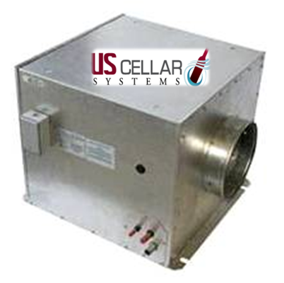Ducted Split Wine Cooling Unit by US Cellar Systems