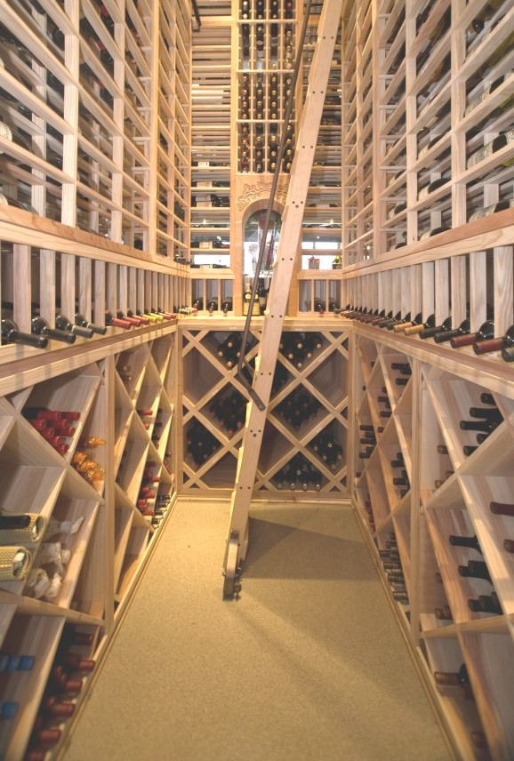 Cork Flooring Wine Cellar Texas