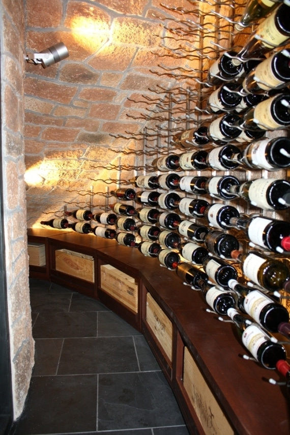 Home Wine Cellar Refrigeration Project by Wine Cellar Specialists and US Cellar Systems