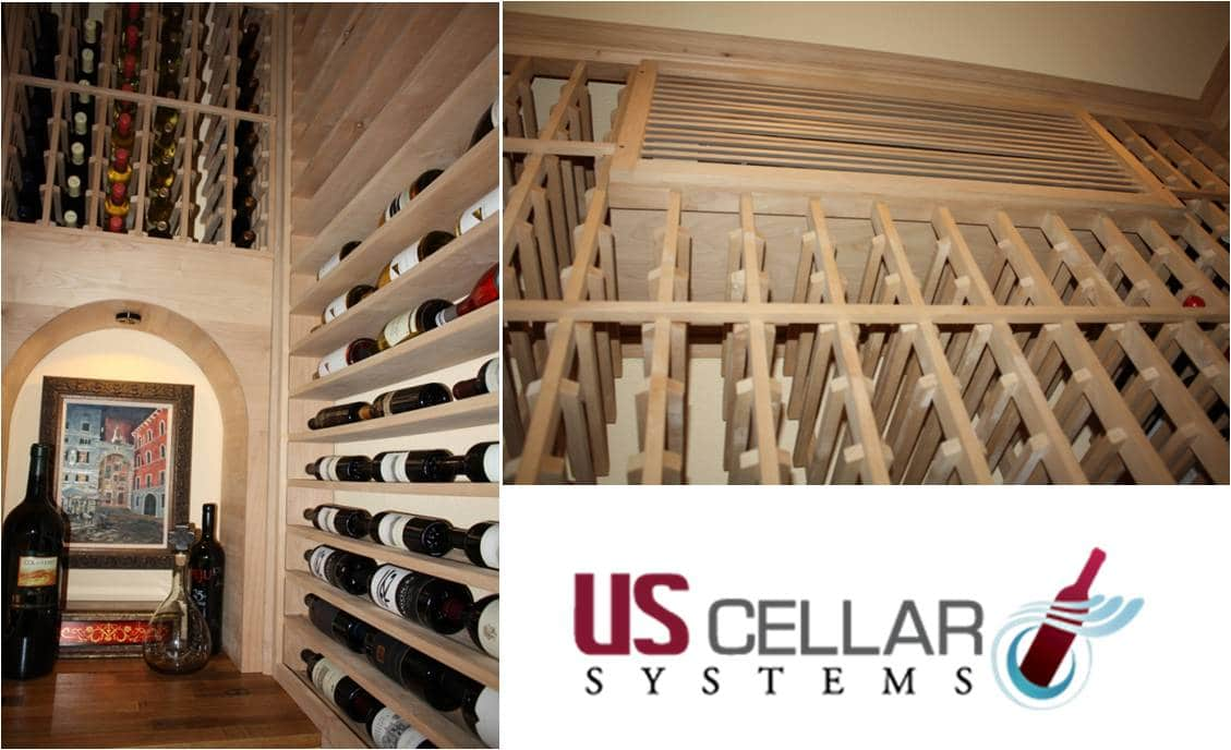 RM2600 Ductless Split Wine Cooling Unit by US Cellar Systems